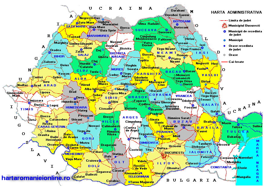 Harta Turistica A Romaniei Sharadesigns